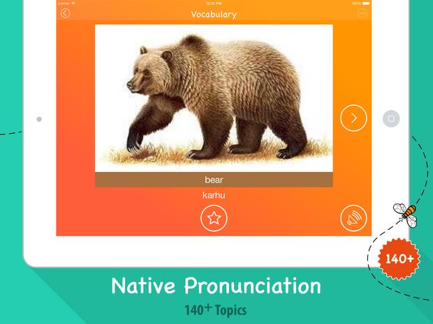 Bear in Finnish