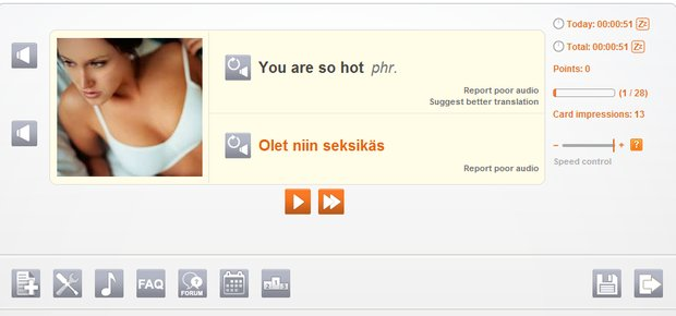 you are so sexy in Finnish